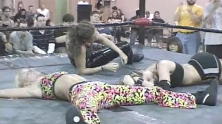 Lacey vs. Daizee Haze vs. Mercedes Martinez