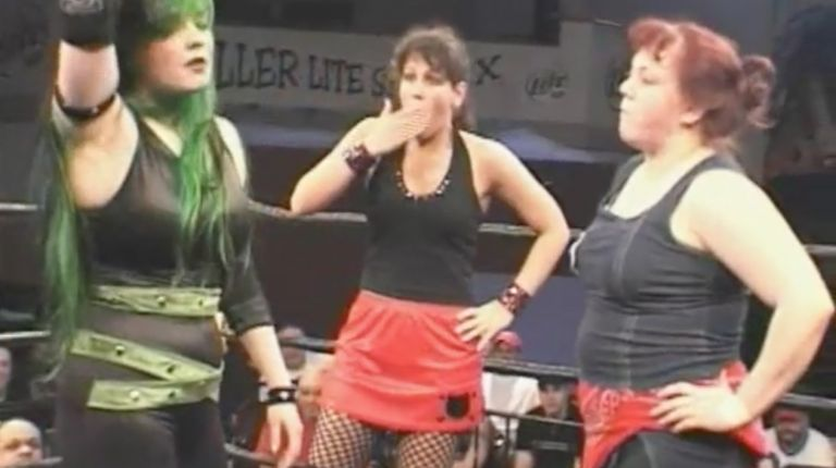 Allison Danger vs. Mickie Knuckles vs. MsChif