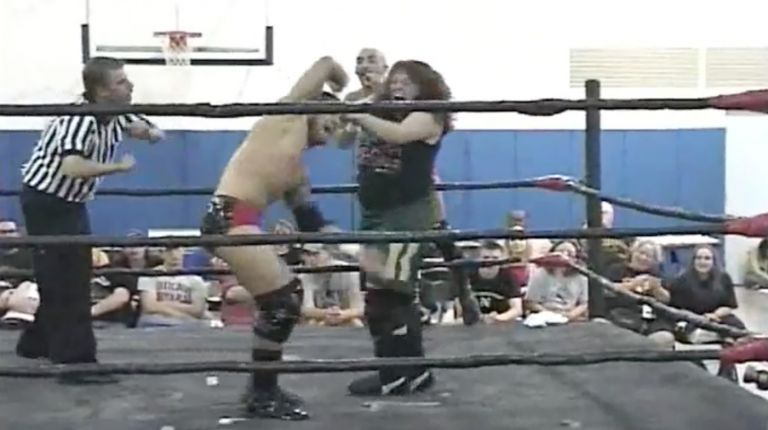 Sal & Vito Thomaselli vs. CJ Otis & Mickie Knuckles