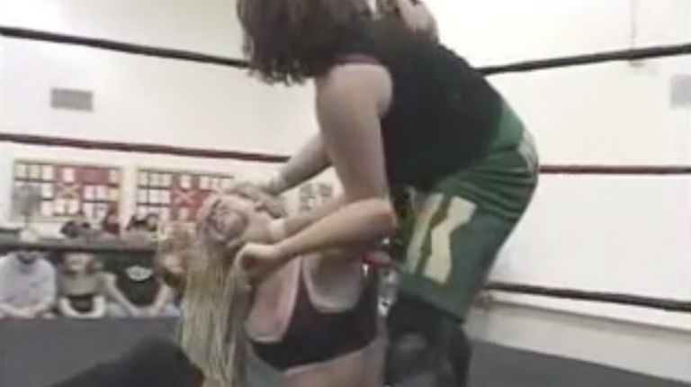 Mercedes Martinez & Angel Williams vs. Daizee Haze & Mickie Knuckles