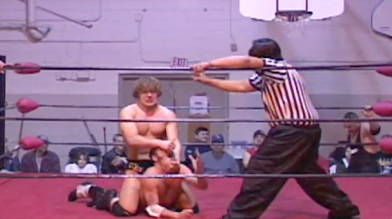 Drake Younger vs. Jon Moxley vs. Devon Moore vs. B-Boy