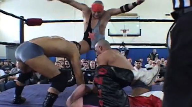 Sal, Vito, & Brandon Thomaselli vs. Eddie Kingston, Larry Sweeney & Matt Hyson