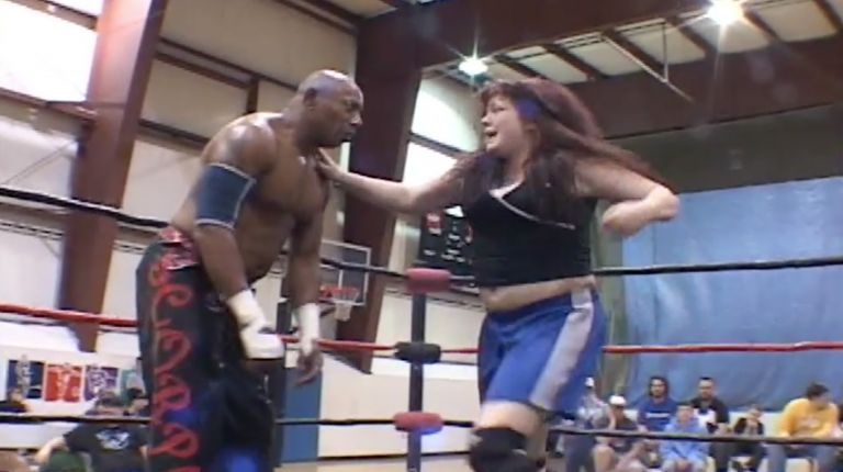 2 Cold Scorpio vs. Mickie Knuckles