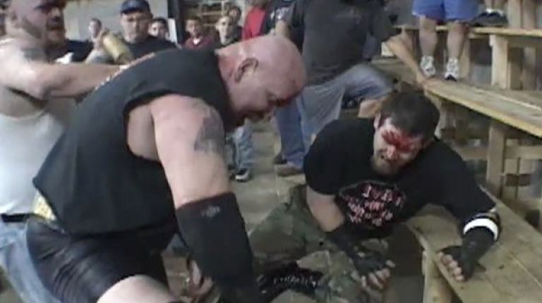Bull Pain vs. Corporal Robinson vs. Mean Mitch Page