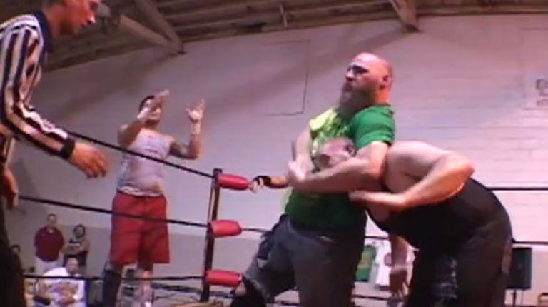 The Hooligans & Matt Cage vs. Necro Butcher, Michael Faith & Chuey Martinez
