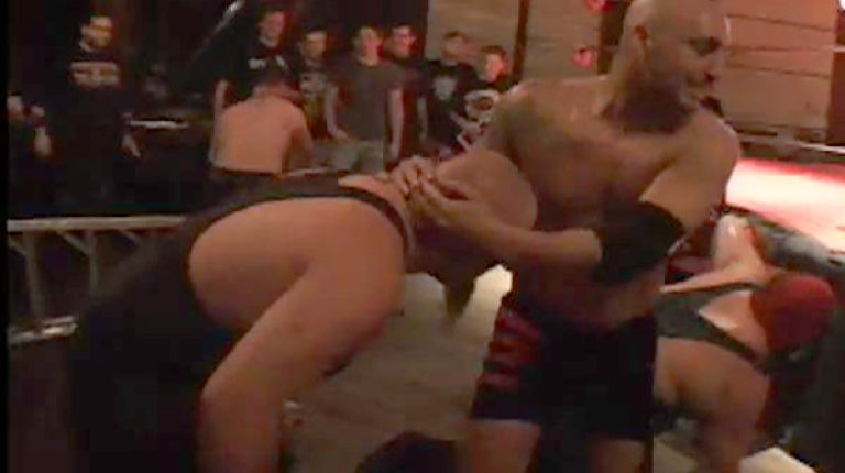 Ian Rotten, Neil Diamond Cutter & Sal Thomaselli vs. The Hooligans & Dixieland Destroyer