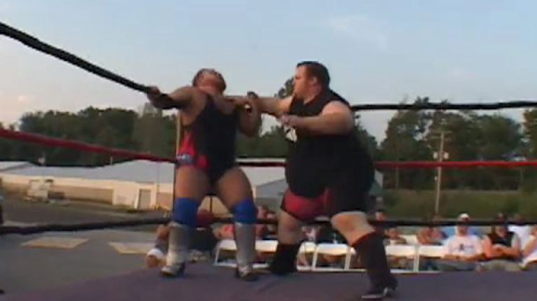 Michael Elgin vs. Jimmy Clough