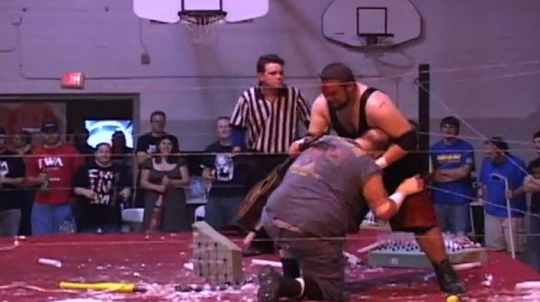 Mad Man Pondo & Ian Rotten vs. Viper & Elkview Adam