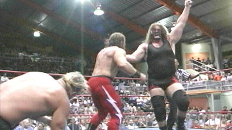 Abyss and Slash Venom vs. Eric Alexander and Andy Anderson