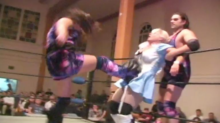 LuFisto & El Generico vs. Misty Haven & Michael Von Payton