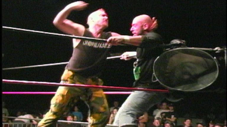 Justin Credible vs. Brother Runt