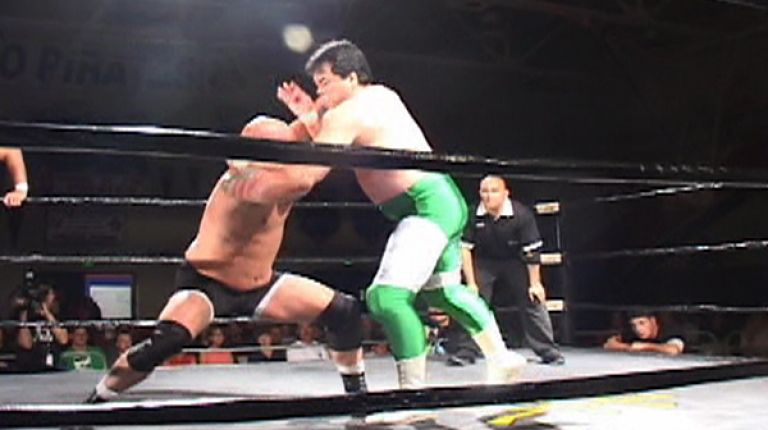 Mitsuharu Misawa and Yoshinari Ogawa vs. Bart Blaxon and Nigel McGuiness