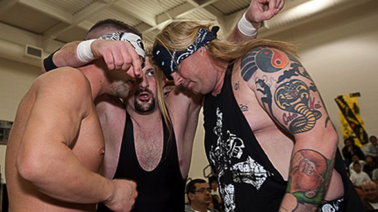 Rock of Love & Rik Luxury vs. The Cutler Brothers & Shinobi