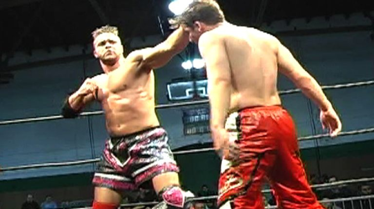 Teddy Hart vs. Jack Evans