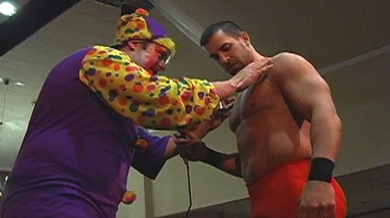 Tommy Suede vs. Kronik the Clown
