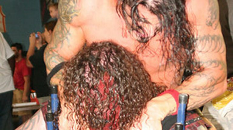 Abyss vs. Monsta Mack vs. Michael Sain vs. Paul E. Normus