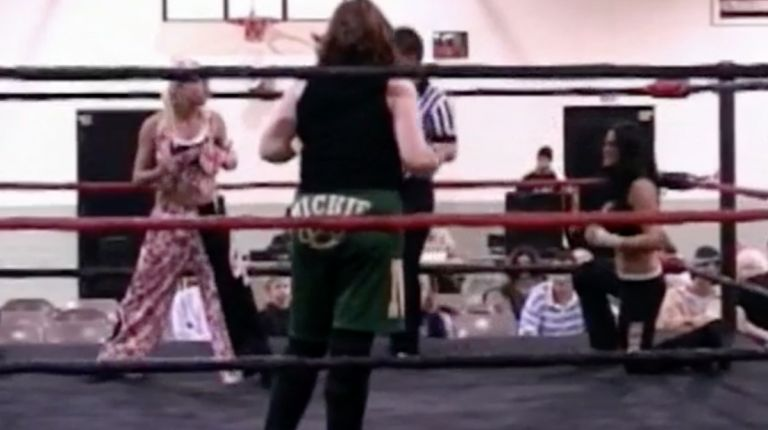 Daizee Haze vs. Traci Brooks vs. Mickie Knuckles