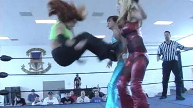 Krissy Vaine vs. Jenny Taylor vs. April Hunter