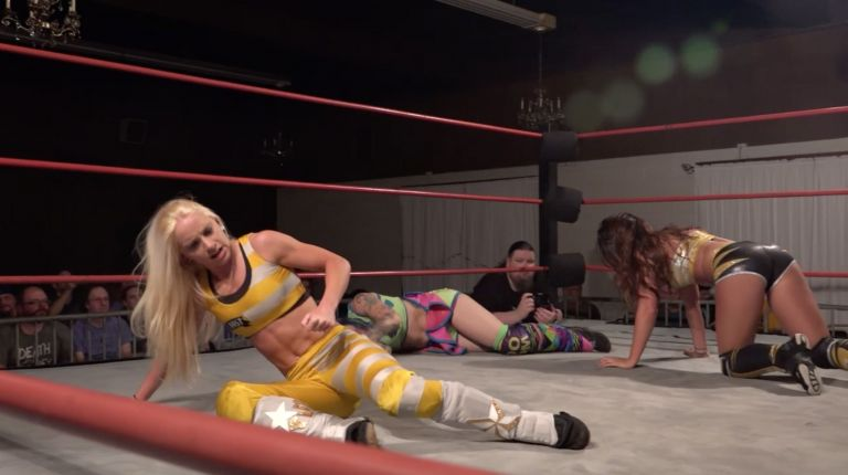 Britt Baker vs. Kate Carney vs. Delilah Doom vs. Angel Dust