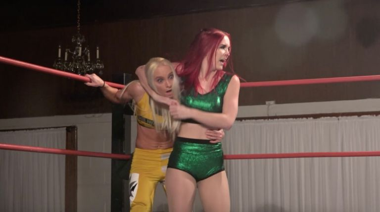 Aria Blake vs. Angel Dust