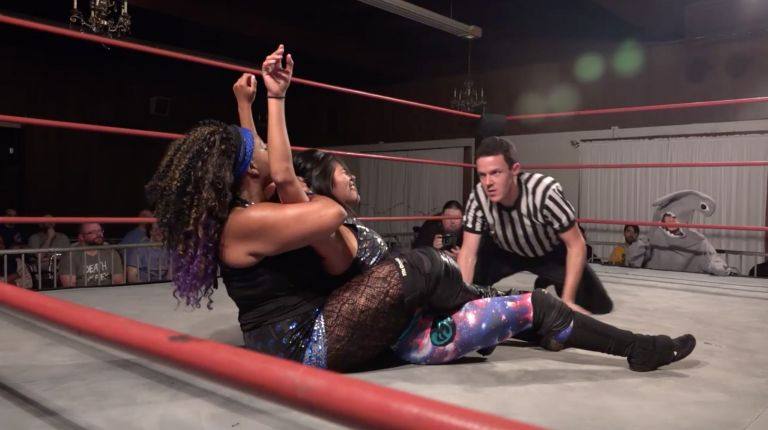 Kikyo & Roni Nicole vs. Delmi Exo & Ashley Vox