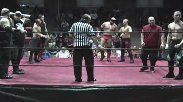 JD Santos & Jason Gory vs. Viper & Brandon Morgan vs. The Murder Junkies vs. David Day & Ricky Lee Stonerock