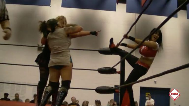 ODB vs. Traci Brooks & Persephone