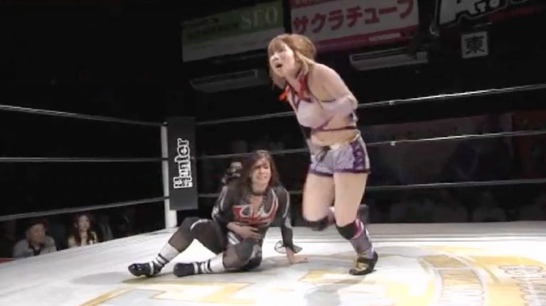 Kairi Hojo & Yuhi vs. Dark Angel & Mayu Iwatani