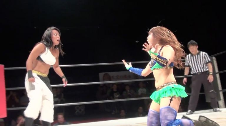 Io Shirai vs. Kris Wolf