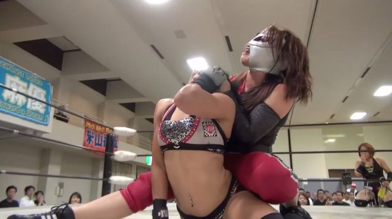 DASH Chisako & Star Fire vs. Hudson Envy & La Rosa Negra