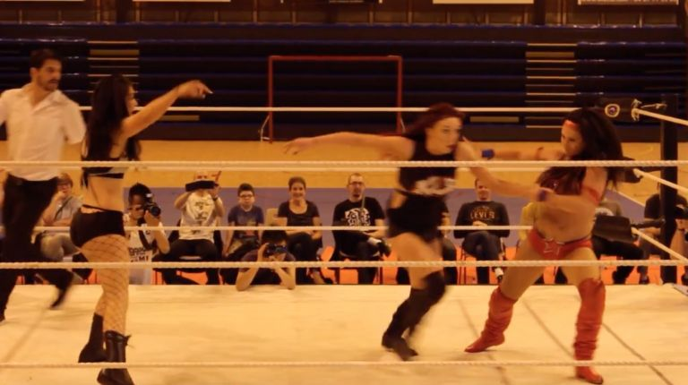 Santana Garrett vs. Leah Owens vs. Kay Lee Ray