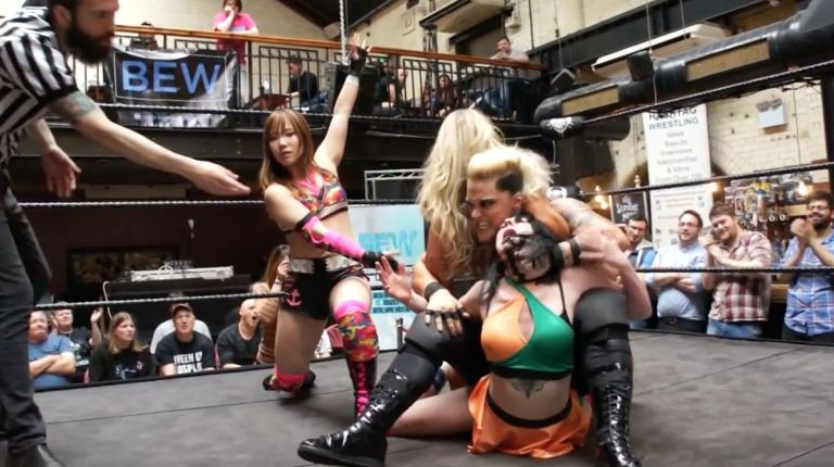 Kairi Hojo & Alpha Female vs. Dahlia Black & Toni Storm