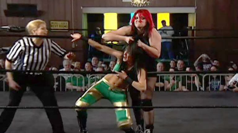 Davina Rose vs. Saraya Knight