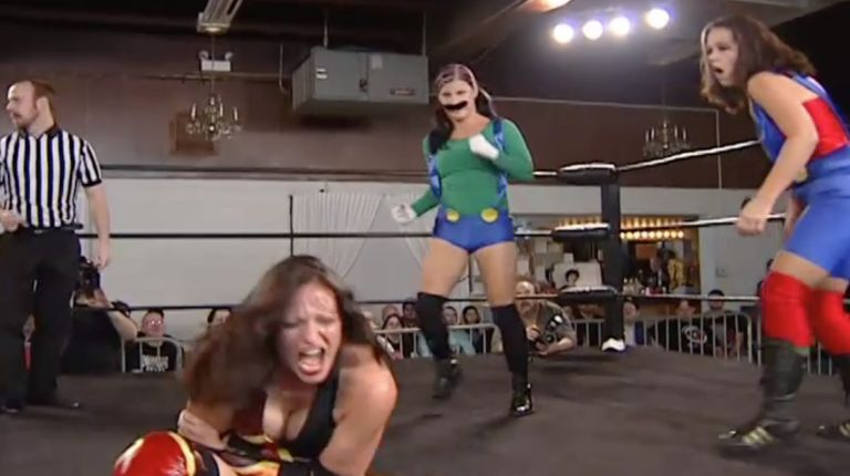 Allison Danger & Leva Bates vs. Sara Del Rey & Courtney Rush