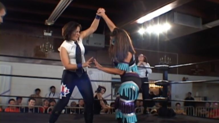 Allison Danger & Leva Bates vs. Mia Yim & Jamilia Craft