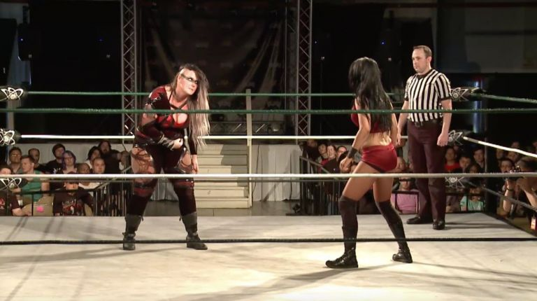 Cheerleader Melissa vs. Jessicka Havok