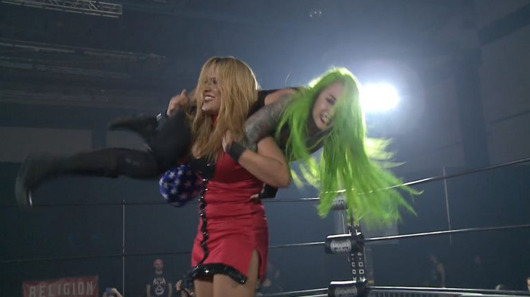 Shotzi Blackheart vs. Cheerleader Melissa