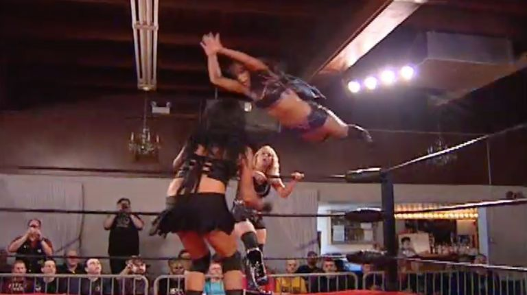 Rachel Summerlyn & Jessica James vs. Melanie Cruise & Annie Social