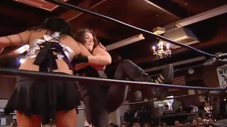 Allison Danger vs. Melanie Cruise