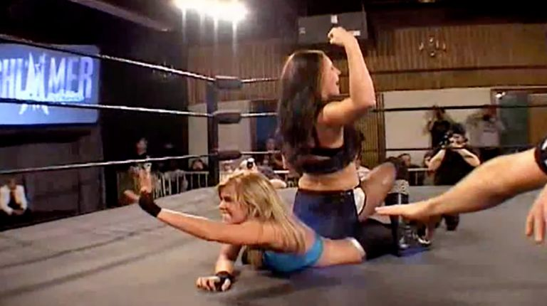Nevaeh & Ashley Lane vs. Lacey & Rain