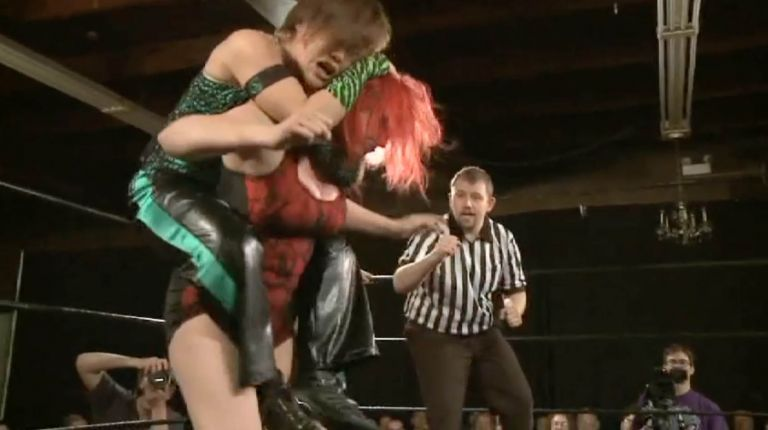 Kellie Skater & Tomoka Nakagawa vs. Rhia O'Reilly & Saraya Knight