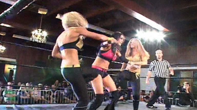 Ashley Lane & Nevaeh vs. Rain & Jetta