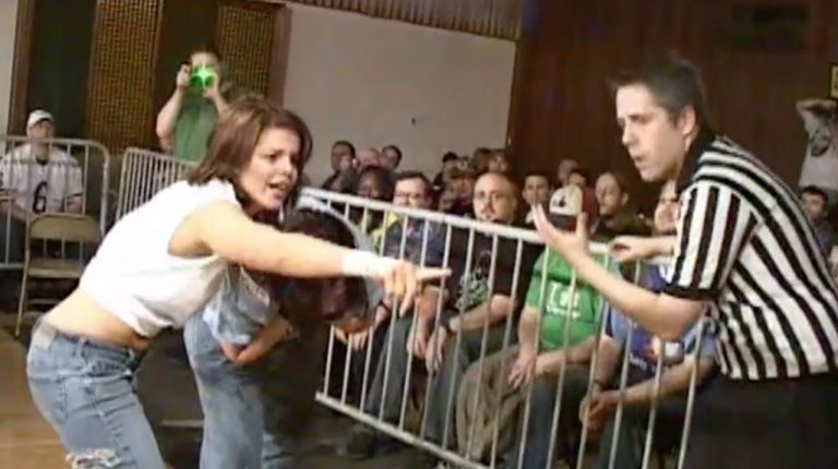 Allison Danger vs. Portia Perez
