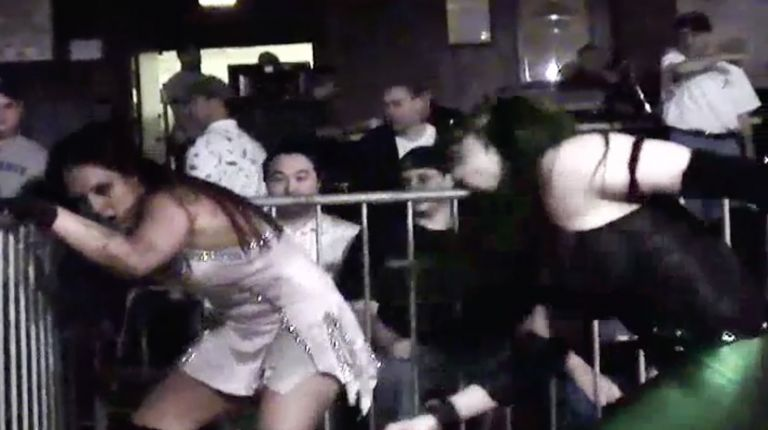 Cheerleader Melissa vs. MsChif
