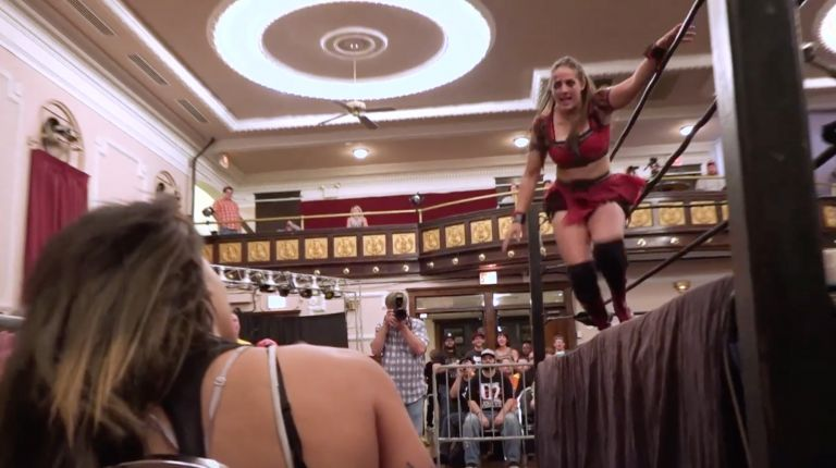 Crazy Mary Dobson vs. Nicole Savoy