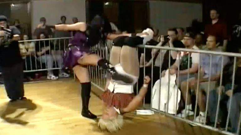 LuFisto vs. Cheerleader Melissa