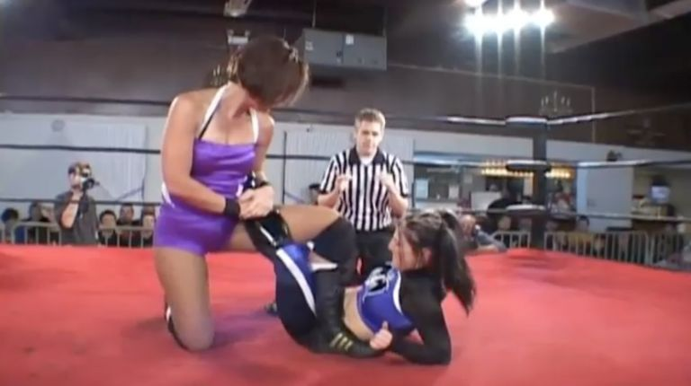 Allison Danger vs. Leva Bates