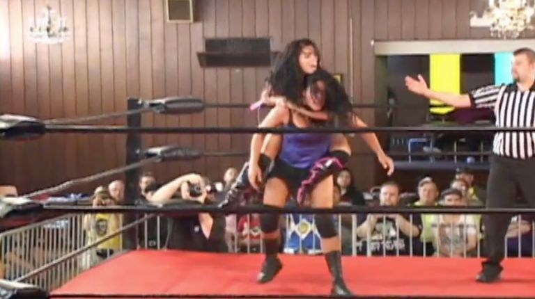Melanie Cruise vs. Jessica James