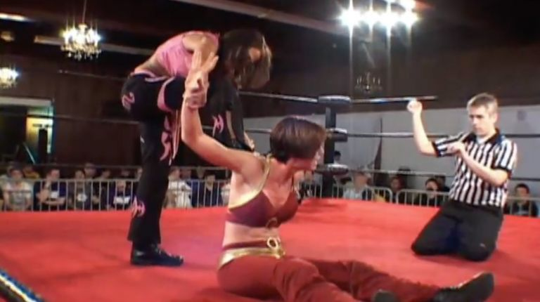 Mercedes Martinez vs. Nikki Roxx