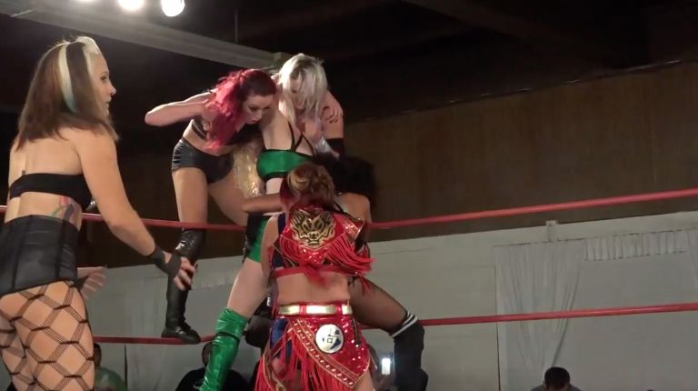 Marti Belle vs. Sonoko Kato vs. Allysin Kay vs. Candice LeRae vs. Kay Lee Ray vs. Kellie Skater